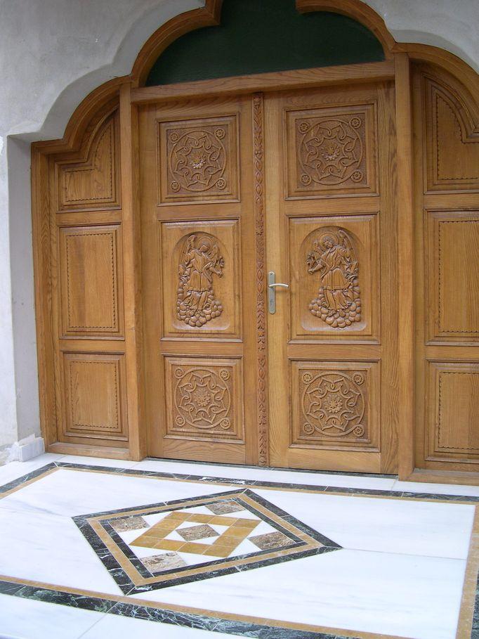 Είσοδος στο Συνεδριακό Κέντρο.